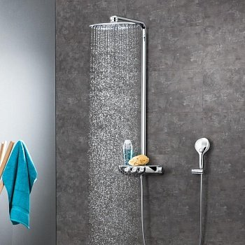 Душевая система Grohe Rainshower System SmartControl 360 DUO (26250000) фото